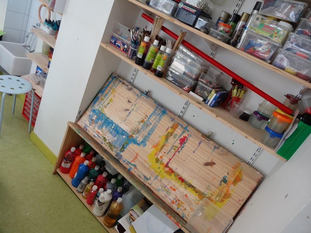 ateliers peinture