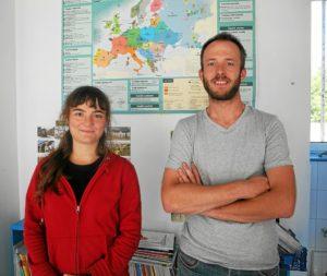 Loeiza Lever-Cruë et Gael Rouz